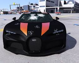Named chiron super sports 300+, it's an evolution of the standard car that promises to let buyers who find a long enough stretch of tarmac channel their inner andy wallace. 2021 Bugatti Chiron Super Sport 300 Add On Gta5 Mods Com