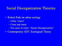 social structure theories social disorganization theories robert 2 social structure theories