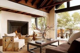 unique and stylish living room interior design of mill valley custom home by sb architects