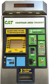 Ticket Vending Machine Near Me Awesome Ticket Vending Machine Chatham Area Transit CAT