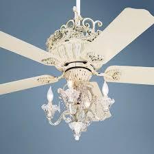 aesthetic ceiling fan with chandelier light kit