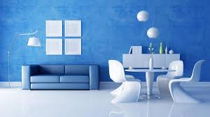 Small Picture blue wall painting design ideas for living room Home Furniture