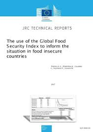 The Use Of The Global Food Security Index To Inform The