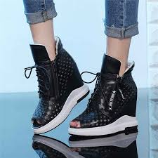 <b>NAYIDUYUN</b> Punk Summer <b>Sneakers</b> Women Cow Leather ...