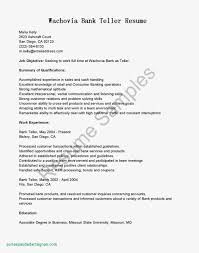 Objective For Teller Resume Remarkable Bank Template With Education