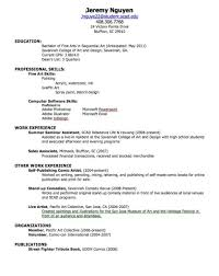 How To Do A Resume For First Job resume for your first job Savebtsaco 1