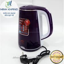 Bảo Hành 12Tháng Ấm siêu tốc cao cấp 2 lớp Jiplai TL518 Thailand inox 304 2  lít