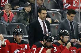 New Boss Still A Loss New Jersey Devils Bounced By Las