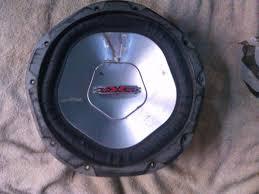 Bajo Xxx 12 Pulgadas Para Carro 500w 4ohm Bs. 55.000 00 en.