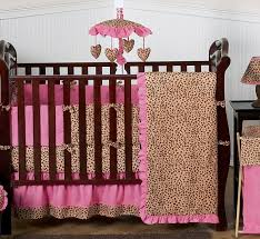 cheetah girl pink and brown baby
