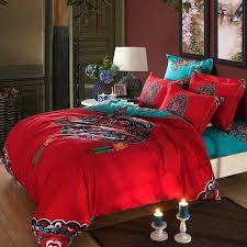 Asian pattern king comforter sets