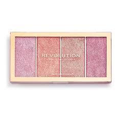 <b>Палетка румян</b> Makeup Revolution <b>Vintage</b> Lace Blush Palette 4 ...