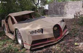 In this video i'll show you how to make bugatti chiron using cardboard. Cardboard Bugatti Shitty Car Mods