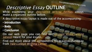 Descriptive Essay Conclusion Examples Informative Essay Outline Pdf Conclusion Example Stanmartin