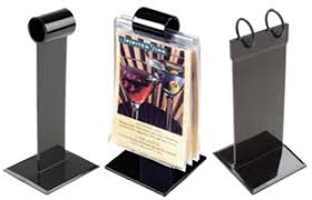 Restaurant Table Top Display Stands Menu Holders Sign Holders Covers Outdoor Cases Floor Stands 6