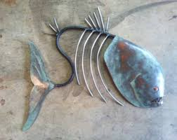 >metal fish sculpture wall hanging migrant resource network metal fish wall decor v sanctuary