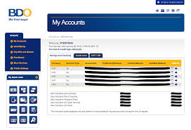 bdo is the leading bank in the philippines in terms of loans and ets but their bdo banking site doesn t show this
