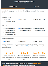 Amazon Fba Light And Small Amazon Fba Selling In Uk Europe And Us Fulfilment By