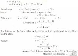 acceleration from velocity time graph