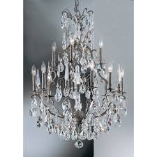 versailles 13 light chandelier crystal type crystalique 9013 ab c