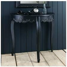half round console table half round accent tables console table black a liked on featuring home half round console table