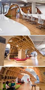 cool office space designs. giant curvy desku2026 cool office spaceoffice workspaceoffice space designs