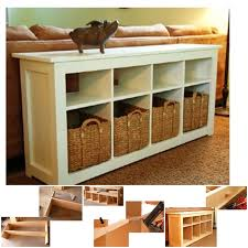 view in gallery sofa table plan wonderfuldiy wonderful diy sofa table with free plans