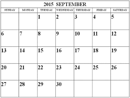 11 best free printable calendar september 2015 images