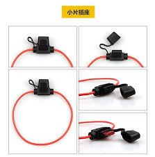 aliexpress com buy waterproof auto fuse box small size fuse waterproof auto fuse box small size fuse socket refit wire plug for automobile fuse