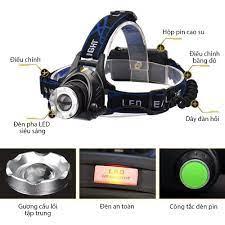 Đèn pin đội đầu siêu sáng cao cấp có zoom - P714290 | Sàn thương mại điện  tử của khách hàng Viettelpost