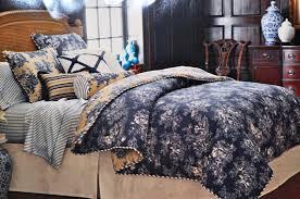 interesting beautiful white bedroom furniture wall ideas ideas in navy blue toile bedding jpg design ideas