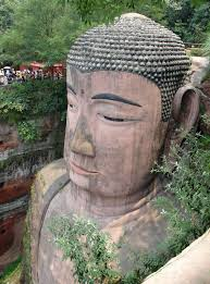 a look at the giant buddha carved into