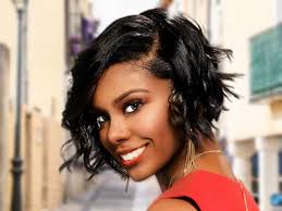 harvest glow short bob hairstyle for black women from ashley coun