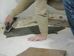 Wet Kitchen Floor How To Install A Tile Floor In A Kitchen How Tos Diy