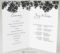 sample wedding ceremony program 2 modern wedding program and templatestruly engaging wedding blog
