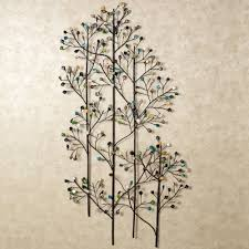 well known charming natural plant design for metal wall art and decor leaves within wire wall