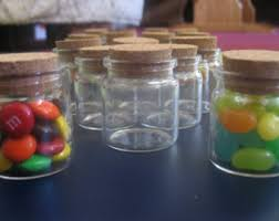 Decorative Glass Jars With Lids Buy Small Glass Bottles With Corks by BittyBottle on Etsy 86