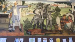 san francisco school will paint over mural depicting slaves and dead native americans cnn