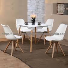 modern square cafe dining set modern bistro table french design office furniture kota kemuning setia