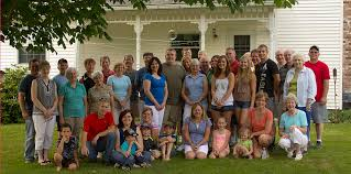 Image result for 1783 george washington returns home with family