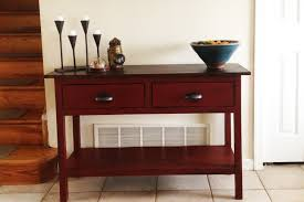 terrific red tv console table pictures ideas  surripuinet