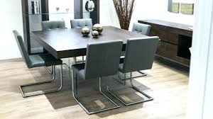 dark grey dining chairs room set table gray leather