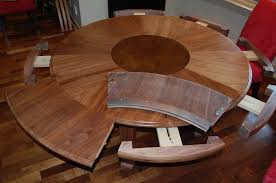 expandable round dining table be equipped pedestal room in that expands ideas 17