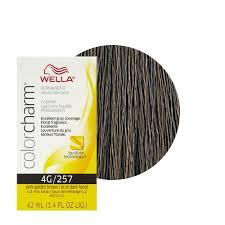 wella color charm permament liquid hair color 42ml dark golden brown 257 4g 381519047435 ebay