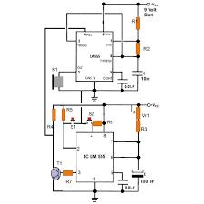 simple ic 555 eng timer buzzer circuit diagram electronic simple ic 555 eng timer buzzer circuit diagram