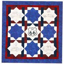 Get Your Kicks on Route 66 Quilt Pattern | Quilters Warehouses & Get Your Kicks on Route 66 Quilt Pattern Adamdwight.com