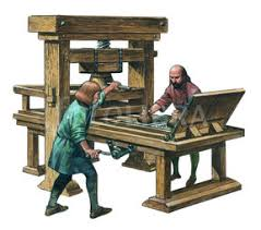 Image result for william caxton printing press