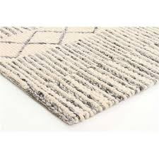 rug lux beige grey felted wool flat weave by rug addiction