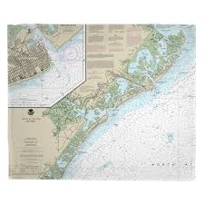 Nj Brigantine Atlantic City Ocean City Nj Nautical Chart