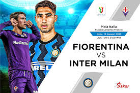 Link Live Streaming Fiorentina vs Inter Milan di Piala Italia
